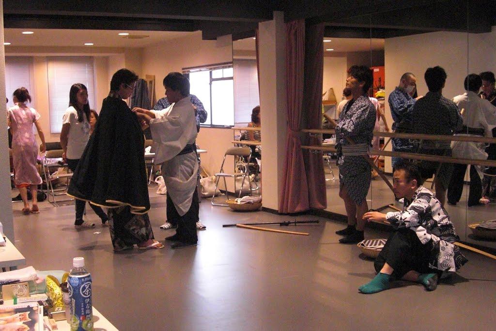 「なにわ役者祭パート3」舞台稽古の風景2